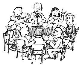 Agenda vergadering engels